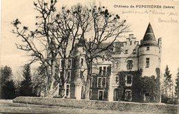 CPA - Environs De VIRIEU-sur-BOURBRE (38) - Aspect Du Château De Pupetières Au Début Du Siècle - Virieu