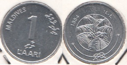 Maldive 1 Laari 1984 KM#68 - Used - Maldives