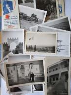 MILITARIA -  Groupement Saharien Du Sud Tunisien - Lot De 15 Photographies  - TBE - War, Military
