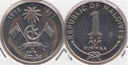 MALDIVE 1 Rufiyaa 1996 KM#73a - Used - Maldivas