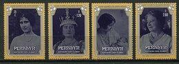 Penrhyn ** N° 310 à 313 - 85 Ans De La Reine-mère Elizabeth - Penrhyn