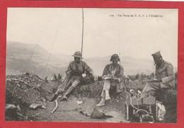 CPA: Militaria - Un Poste T.S.F. à Téroual - Télégraphie Militaire - Radio - - Materiale