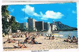 Etats Unis OAHU WAIKIKI BEACH  1982 - Oahu