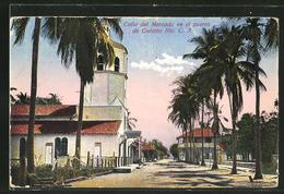 AK Corinto, Calle Del Mercado En El Puerto De Corinto Nic - Nicaragua