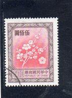 CHINE TAIWAN 1982 O - 1945-... République De Chine