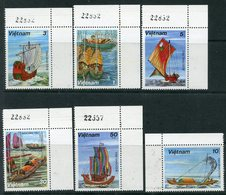 Y85 VIETNAM 1983 1285-1290 Boats. Sailboats. Ships Fleet - Ships