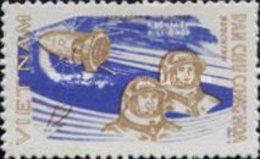 NORTH  VIETNAM USED STAMPS Exploration Of Space -1959 - Vietnam