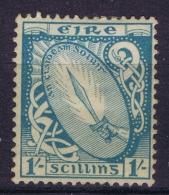 IRELAND :  Nr 82 A MH/* Flz/ Charniere  1940 - 1922-37 Stato Libero D'Irlanda