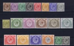 Kenya & Uganda Mi Nr 1 - 17 + 22-23, SG Between 76 - 95 MH/* Flz/ Charniere 1922 - Kenya, Uganda & Tanganyika