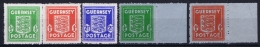 Guernsey SG 1 - 5  Postfrisch/neuf Sans Charniere /MNH/** German Occupation - Guernsey