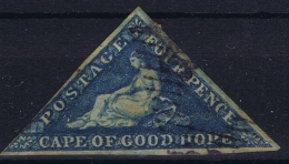 Cape Of Good Hope :  4d On Slight Blued Paper   Used - Südafrika (...-1961)