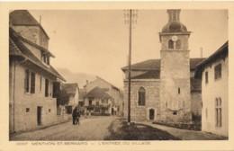H161 - 74 - MENTHON-SAINT-BERNARD - Haute-Savoie - L'entrée Du Village - Autres Communes