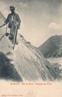 H161 - 74 - MONTANVERT - Haute-Savoie - Mer De Glace - Passage Des Ponts - Autres Communes