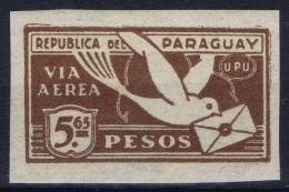 Paraquay Mi 313 Non Perforated Postfrisch/neuf Sans Charniere /MNH/**  Airmail  1929-1931 - Paraguay