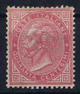Italy   Sa 20 Not Used (*) SG  Mi Nr 20  1863 - 1861-78 Victor Emmanuel II.