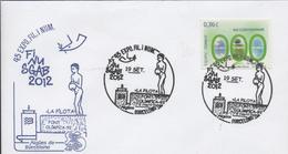 30120. Carta BARCELONA 2012. FINUSGAB, Aguas De Barcelona, Font De La Pilota - 1931-Hoy: 2ª República - ... Juan Carlos I