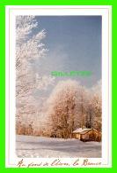 ADVERTISING - PUBLICITÉ -  BEAUCE, TOURISME ET CONGRÈS - LA BEAUCE SOUS LA NEIGE - PHOTO, YVON THIBODEAU - - Publicité