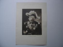 Photo 14/18 Offerte Par Le Journal LE MIROIR Du Général JOFFRE 1914 WWI 1918 - Magazines & Papers