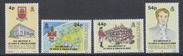Gibraltar 1992 100th. Ann. Of The Diocese Of Gibraltar In Europe 4v ** Mnh (40882C) - Gibilterra