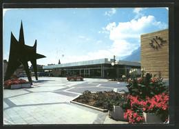 CPA Grenoble, Gare Routiére Et Stabile De Calder - Grenoble