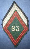 Losange De Bras 63° Cie Divisionnaire - Patches