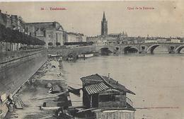 31, Haute Garonne, TOULOUSE, Quai De La Daurade, Scan Recto-verso - Toulouse