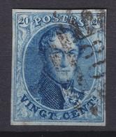 N° 11 A Margé   : 80 MARCHIENNE AU PONT 8 Barres  COBA +5.00  Planche V Position 4  RETOUCHE - 1858-1862 Médaillons (9/12)