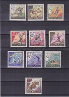 URSS 1960 JEUX OLYMPIQUES DE ROME Yvert 2310-2319  NEUFS** MNH - 1923-1991 URSS