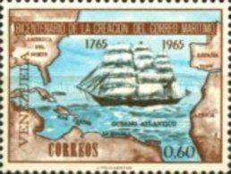 VENEZUELA MINT STAMPS The 200th Anniversary Of Maritime Mail -1966 - Venezuela