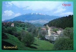 Mountain Of OPOJA KORITNIK, Kosovo (Serbia) New Postcards - Kosovo