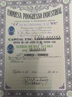 Portugal Acção ( Titulo) EMPRESA PROGRESSO INDUSTRIAL - Aandelen