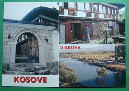 City Of JAKOVA (DJAKOVICA), Multiview, River Erenik, Old House, Kosovo (Serbia) New Postcards - Kosovo