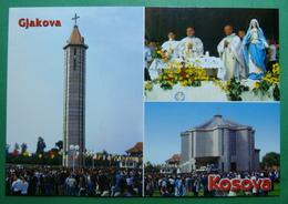 Village Of BISTRAZIN Near Gjakova, Catholic Church, Kosovo (Serbia) New Postcards - Kosovo