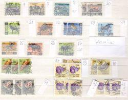 Petite Collection KENIA, Sselon Scan, Livriaon En Sac Crystal, Lot 50094 - Kenya (1963-...)