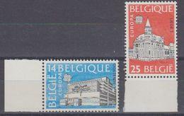 Europa Cept 1990 Belgium 2v (+margin)  ** Mnh (40885) - Europa-CEPT