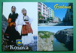 City Of JAKOVA, Multiview, Canyon Of River White Drim, Folklor, Kosovo (Serbia) New Postcards - Kosovo