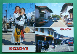 City Of JAKOVA, Multiview, Old Bazar, Folklor, Kosovo (Serbia) New Postcards - Kosovo