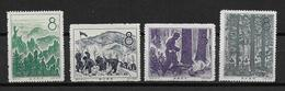 CHINE  - YVERT N° 1171/1174 NEUFS  - - 1949 - ... People's Republic