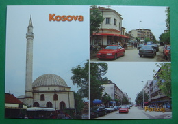 City Of FERIZAJ (UROSEVAC), Multiview, Mosque, Kosovo (Serbia) New Postcards - Kosovo