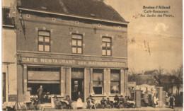 BRAINE-L'ALLEUD   Café-restaurant  Au Jardin Des Fleurs. - Braine-l'Alleud