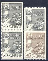 +B1497. Sweden 1952. Petri. Michel 367-68. MNH(**) - Unused Stamps