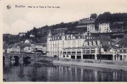 Bouillon Hotel De La Poste Et Pont De Liege - Bouillon
