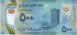 Mauritania - Pick New - 500 Ouguiya 2017 - 2018 - Unc - Mauritanie