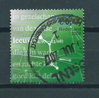 2008 Netherlands Zodiac,leeuw Used/gebruikt/oblitere - Periode 1980-... (Beatrix)