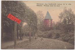 Tienen, Thienen, Tirlemont, De Vesten Met De Woning Van De Directeur Suikerfabriek,gekleurd,  COLLECTORS! - Tienen