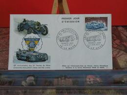 Chenard Walcker, Anniversaire Des 24 Heures Du Mans - (72) Le Mans - 2.6.1973 - FDC 1er Jour Coté 2,30€ - FDC