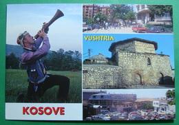 City Of VUSHTRIA (VUCITRN), Multiview, Hamam, Folklor, Kosovo (Serbia) New Postcards - Kosovo