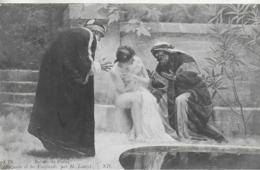 AK 0050  Salons De Paris - Suzanne Et Les Vieillards , Par H. Louvet Ca. Um 1910 - Peintures & Tableaux