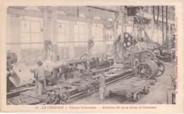 INDUSTRIE - 71 LE CREUSOT - USINES SCHNEIDER N° 31 - Ateliers De Gros Tours Et Foreuses - CPA Usine Entreprise - Industrie