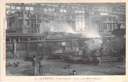 INDUSTRIE - 71 LE CREUSOT - USINES SCHNEIDER N° 16 - Four à Aciers Martin Siemens - CPA Usine Entreprise - Industrie
